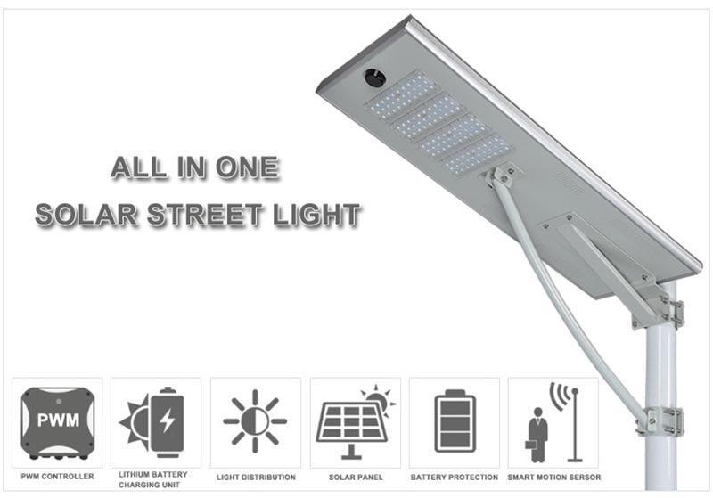 all in one solar street light manufacturer