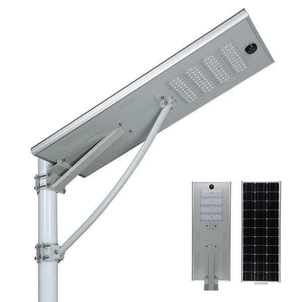 integrated all in one solar led street light 30w to 120w