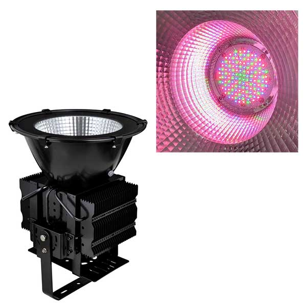outdoor ip65 rgb led wall washer spot light dmx 100w to 500w