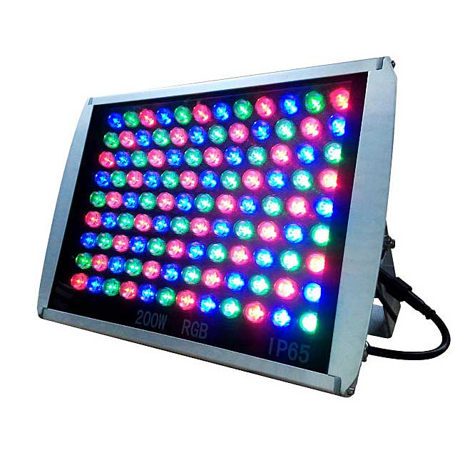 rgb led floodlight dmx