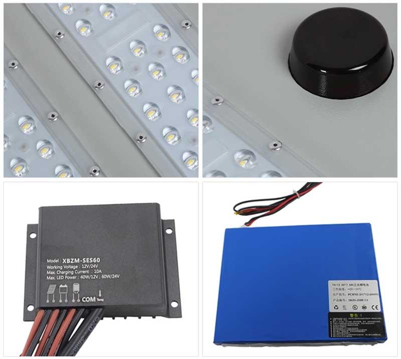 solar battery for outdoor lights