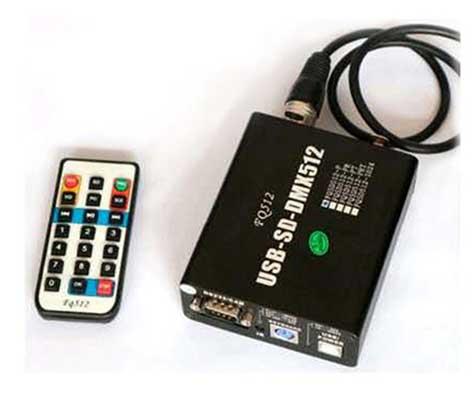 dmx512 controller for dmx rgb led flood light