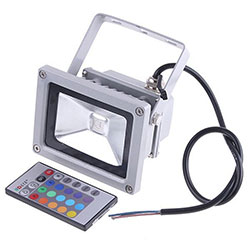 led flood light with rf remote control
