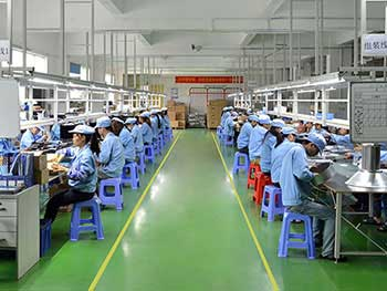led light factory in china