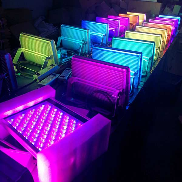 outdoor color changing led flood lights