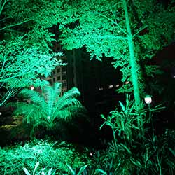 100 watt rgbw led flood light