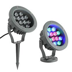 12 watt rgb led spotlight