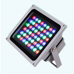 50 watt rgbw led flood light