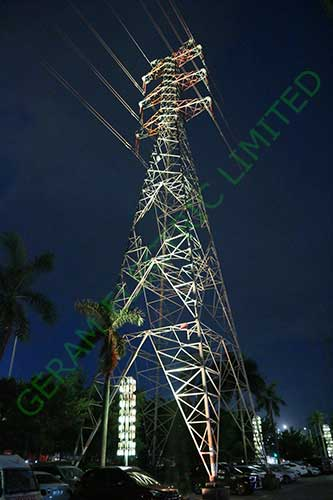 500 rgb led flood light dmx