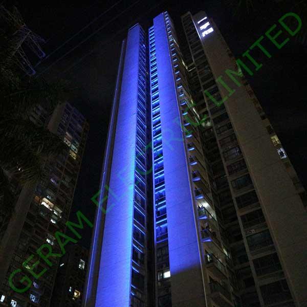 500 watt rgbw led flood light