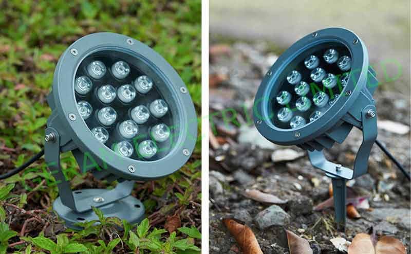 dmx rgb led spotlight 12 watt 18watt
