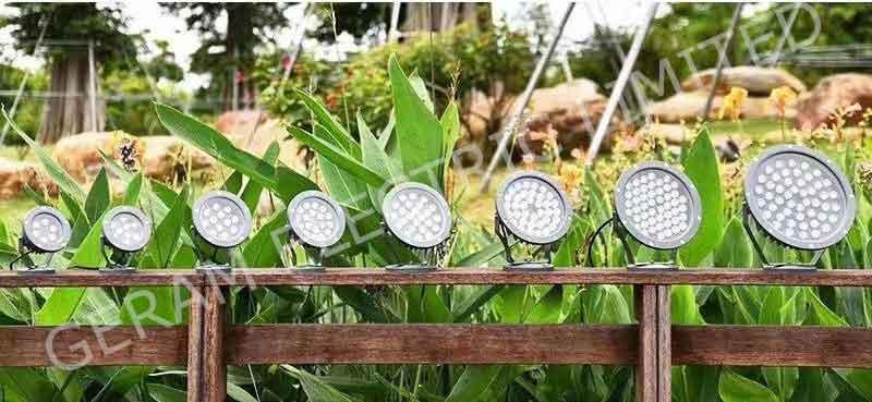 dmx rgbw led spotlight 12 watt 18 watt