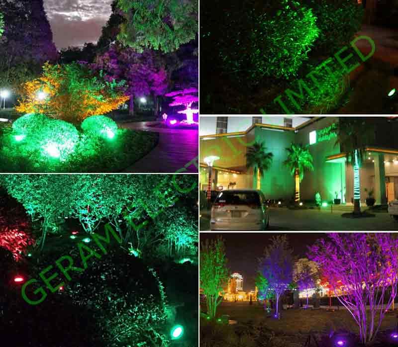 dmx rgbw led spotlight 24 watt 36 watt