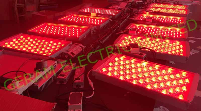 dmx512 rgbw led flood light 100w 200w 300w
