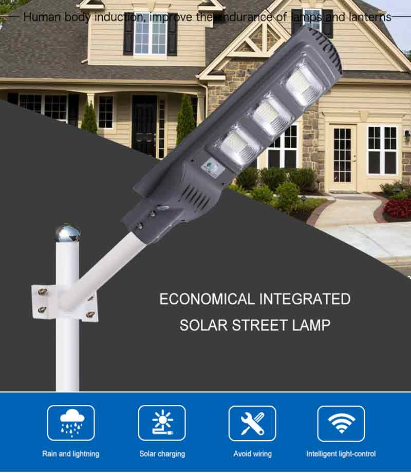 led solar street light 90w