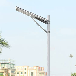100w integrated solar powered led street light