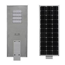 150 watt all in one integrated solar powered led street light