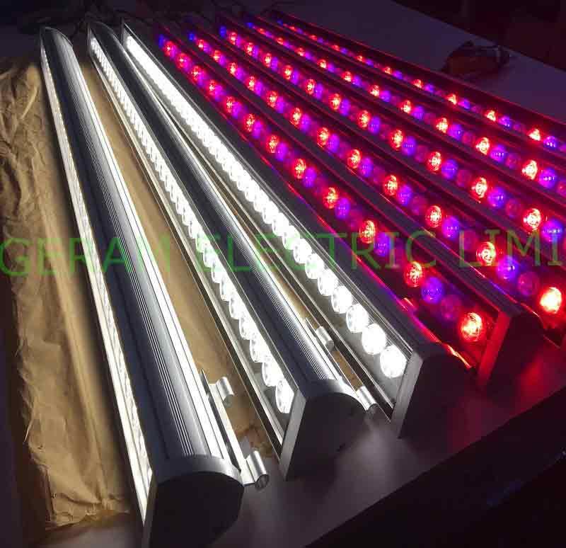 18 watt 24 watt 36 watt 48 watt dmx led wall washer light