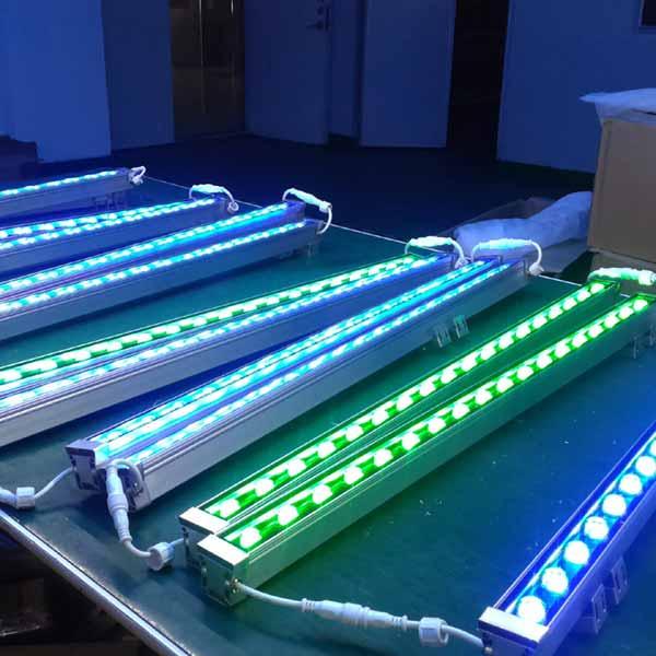 18w 24w 36w 48w 72w 108w rgb led wall washer light