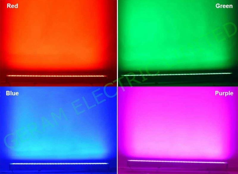 18w 24w 36w 48w 72w 108w rgbw led wall washer light