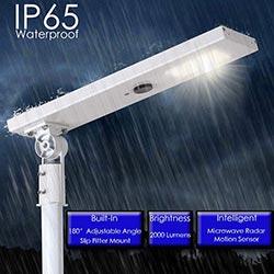 20 watt 40 watt 60 watt all in one led solar street lamp