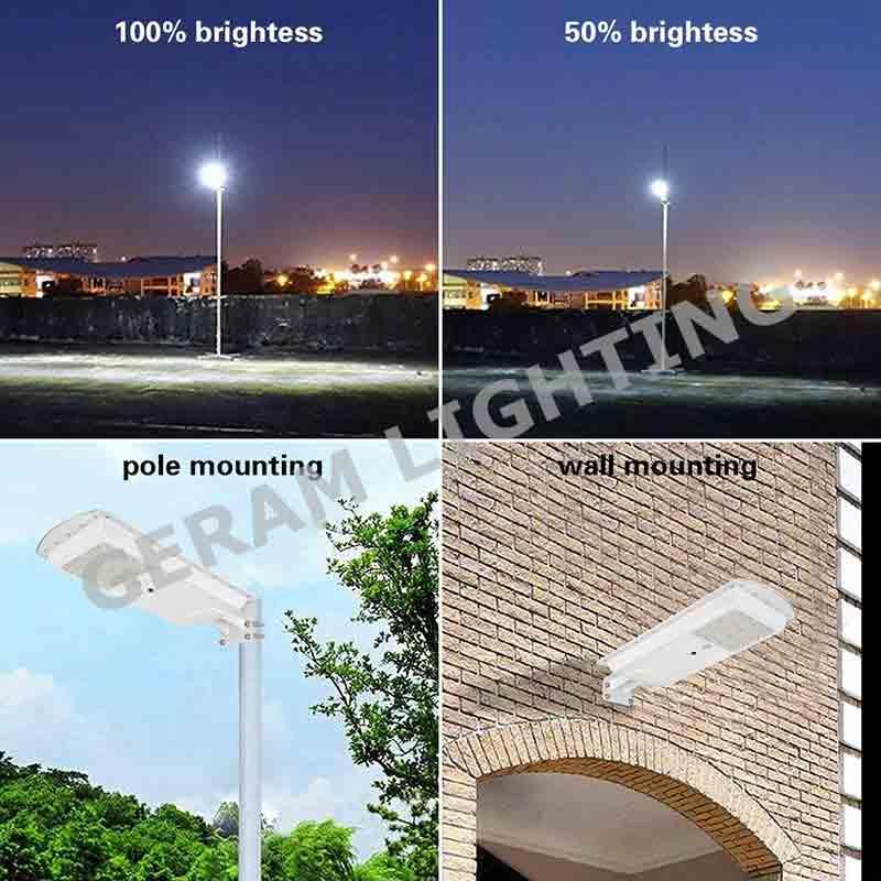 25 watt 30 watt integrated solar led street light