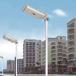 25 watt all in one solar led street light