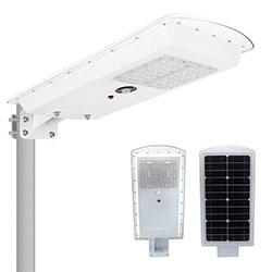 25w 30w all in one led solar street lamp
