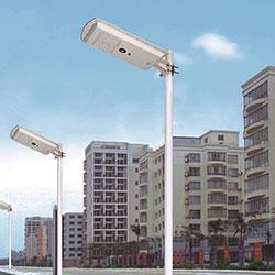 25w 30w integrated led solar garden street light