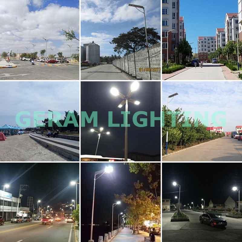 30w 40w 50w led solar road light