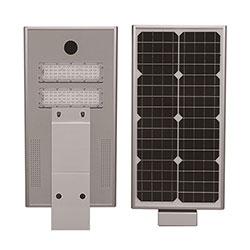 40w integrated solar powered led street light