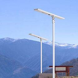 60 watt all in one solar led street light