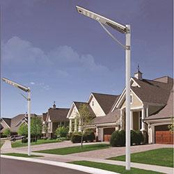 60 watt integrated solar powered led street light