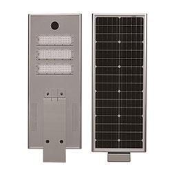 60w integrated solar powered led street light