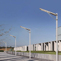 80 watt all in one solar led street light
