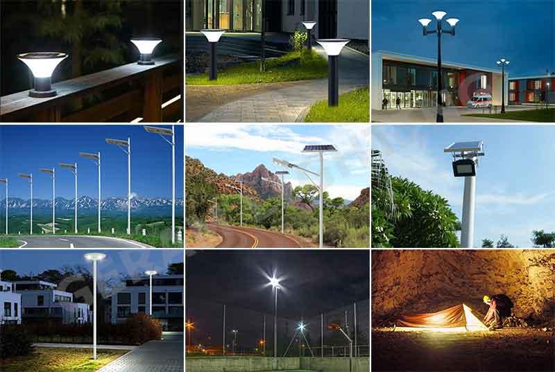 solar light application
