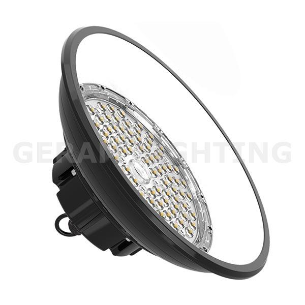 100w round led high bay light