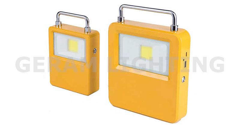 portable rechargeable led flood light