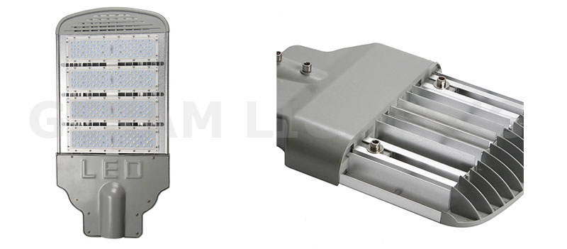 high pressure sodium replacement led street light 200w