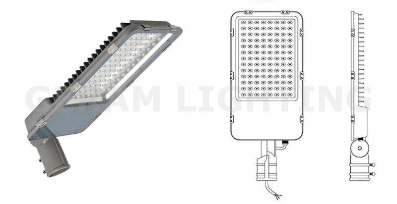 outdoor led street light fixtures