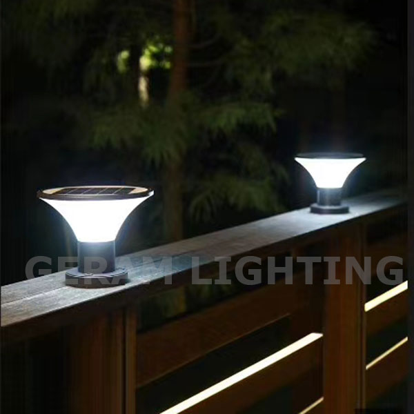 solar lights for driveway pillars
