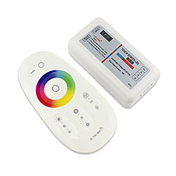16 Million Colors Wireless 2.4G Touch Control RGBW Controller
