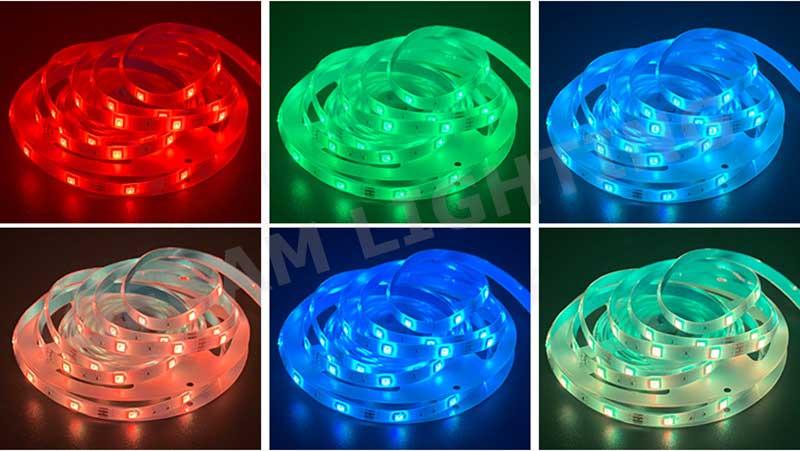 5m 10m 15m rgb led strip light