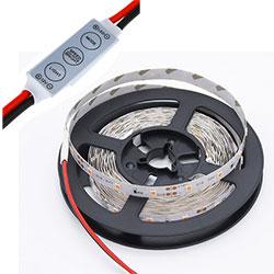 High CRI 12V 24V SMD 2835 5050 Dimmable LED Strip Light