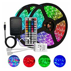 Remote Controlled Color Changing RGB RGBW LED Strip Light