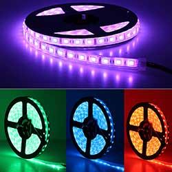 Super Bright 12V 24V 110V 220V SMD 5050 LED Strip Light