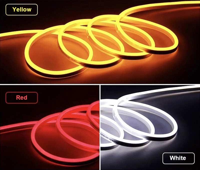 ac 110v 220v 230v 240v ip65 neon led strip light