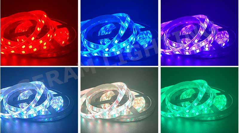 color changing rgb led strip light