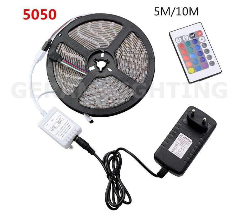 LED Strip Light Wireless Infrared 24 Keys IR Remote Controller