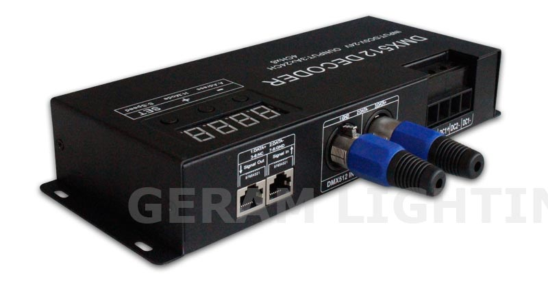 LED Strip Light 3-4 Channel DMX DMX512 RGB RGBW Decoder